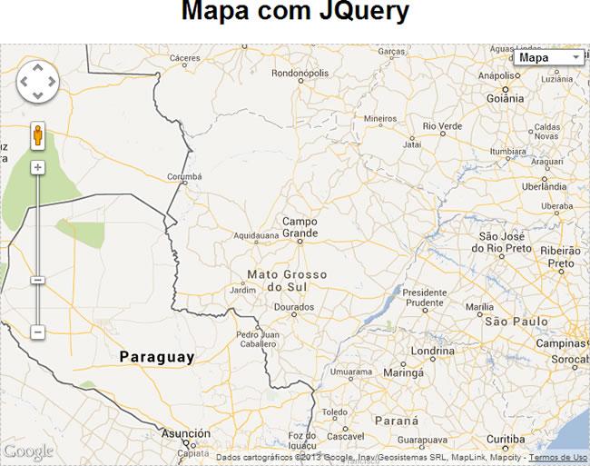 gmap3 exemplo mapa
